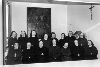 Groepsfoto Arme Klaren, 1992