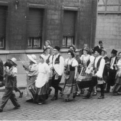 Batjesstoet, Noordstraat, 1953