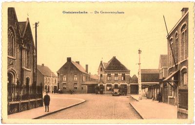 Oostnieuwkerke - De Gemeenteplaats
