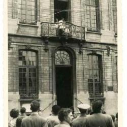 Koning Faroek op de Batjes, 1953