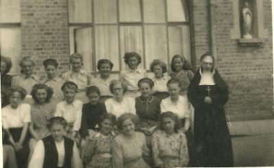 Naaischool, Gits, 1949-1950