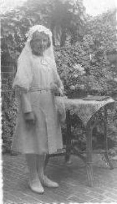 Plechtige Communie, Gits, 1935