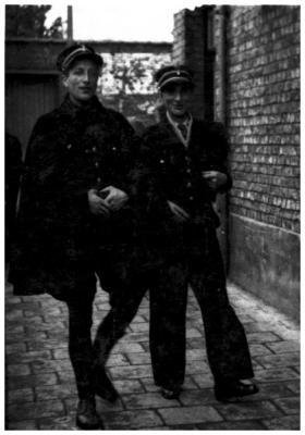 Aimé Bondue en Holvoet, 1936
