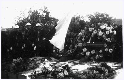 Begrafenis Poolse bevrijders, 1944