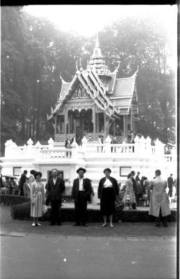 Op wereldtentoonstelling met Cyriel, Brussel, 24 augustus 1958