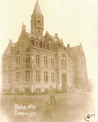 Kasteel van Pélichy, Gits, 1916