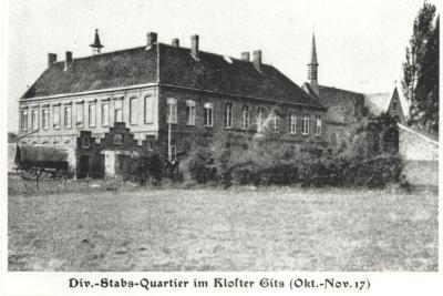 Hoofdkwartier van de Württembergische 26e Reserve Divisie, Gits