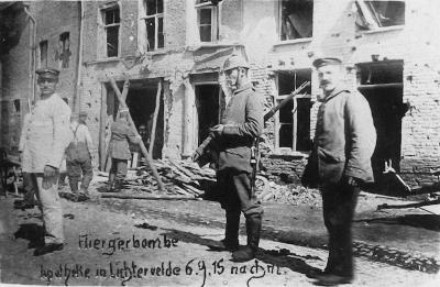 Gebombardeerde plaatsen
