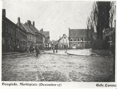Marktplatz Dezember 17, Hooglede
