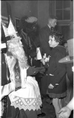 Sinterklaasfeest K.A.J., Izegem, 1958