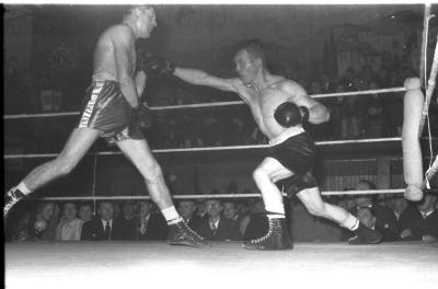 Boksgala, Izegem, 3 november 1958
