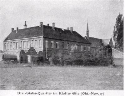 Klooster van Gits, oktober-november 1917