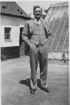 Walter Hennion, zaakvoerder melkerij Sint-Martinus, Moorslede
