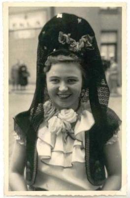 Batjesstoet, figurante, 1953