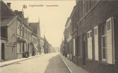 Gravinnestraat, Ingelmunster, ca 1910