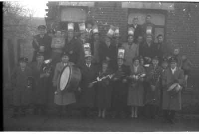 Fotoreportage duivenkampioen, Zonnebeke, 1958