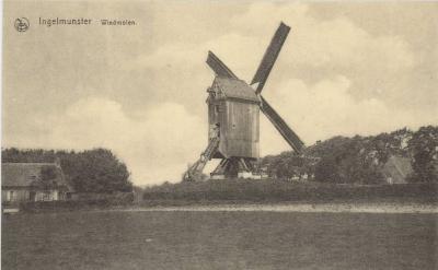 Kasteelmolen, Ingelmunster, ca 1910