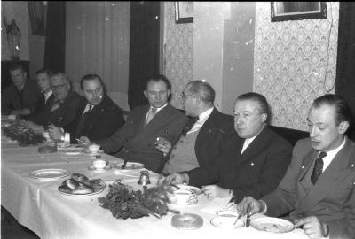 Kerstfeest kadetten F.C. Izegem, Izegem, 1958