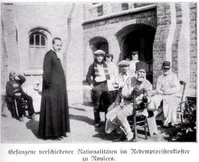 Gevangenen in klooster Redemptoristen, Roeselare