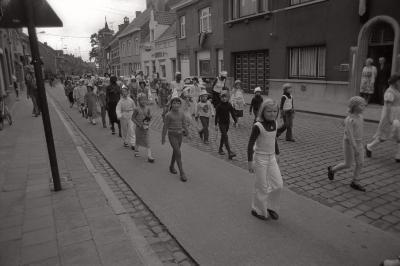Stoet Iepersestraat, Moorslede september 1976