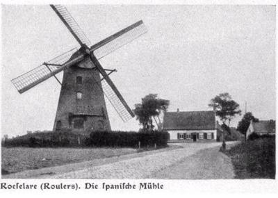 Spanje molen, Roeselare