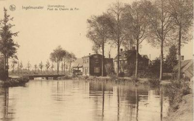 Ijzerwegbrug, Ingelmunster, ca 1910