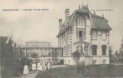 Kasteel Vande Venne, Ingelmunster, ca 1910