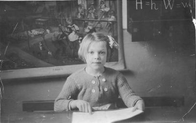 In de 3de kleuterklas, Gits, 1939