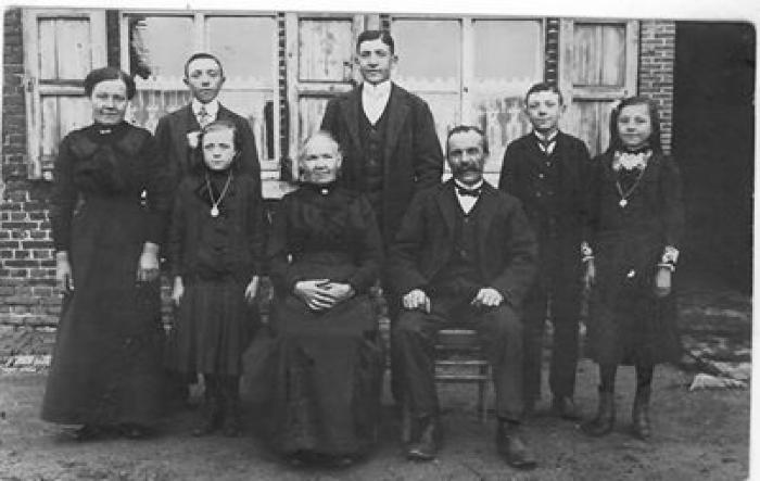 Familie Perneel, +-1900