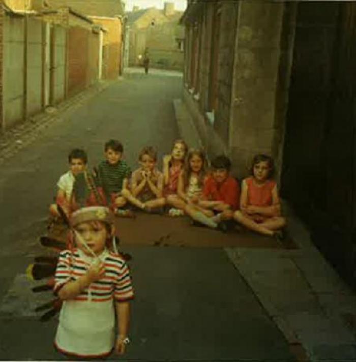 Domstraat in Beveren, jaren '70