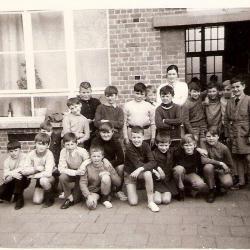 Zesde leerjaar Beveren, 1971