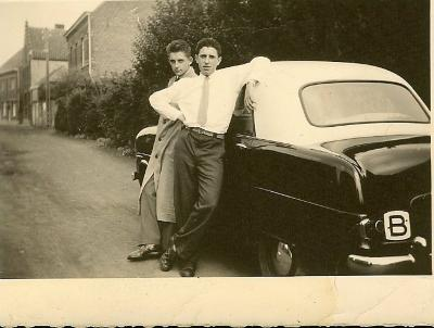 Henri Parmentier en Frans Meeuws, 1955