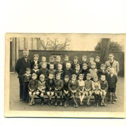 Schoolfoto eerste leerjaar, 1944