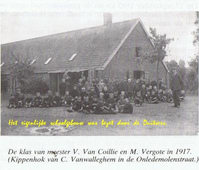 Jongensschool Beveren, 1917