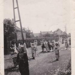 Mariaprocessie, Beveren, 1947