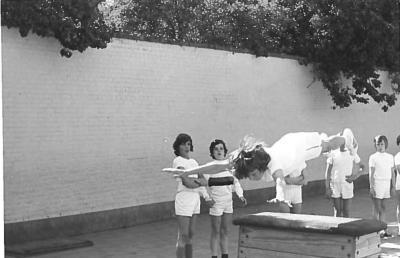 Turnclub, jongensschool Beveren, 1973