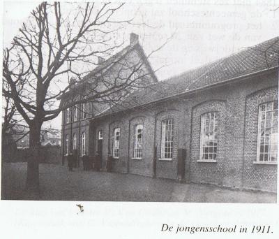 Jongensschool Beveren, 1911