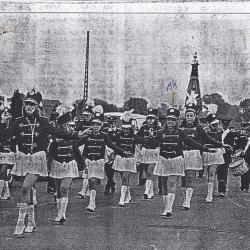 Majorettekorps, Beveren, 1980