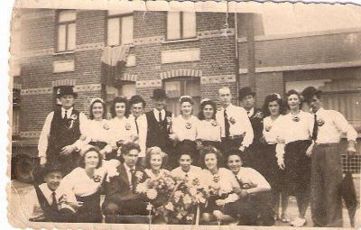 Inhuldiging burgemeester, jaren '50