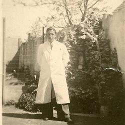 Haarkapperskledij, jaren '40