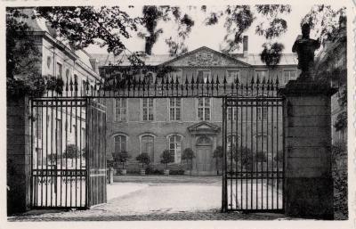 Ingang van het Kasteel, Ingelmunster, ca 1950