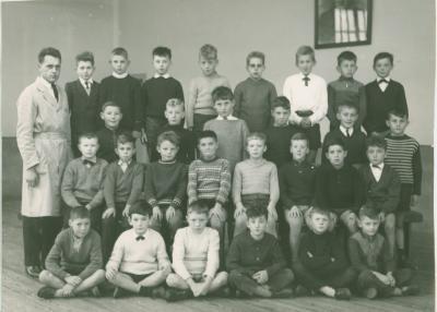 Klasfoto 5° leerjaar, Beveren, 1964