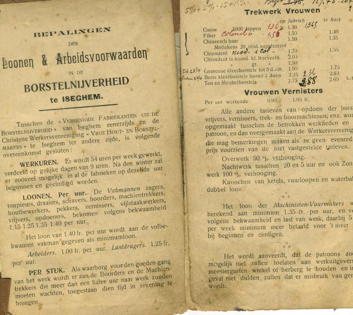 Arbeidsovereenkomst Werbrouck