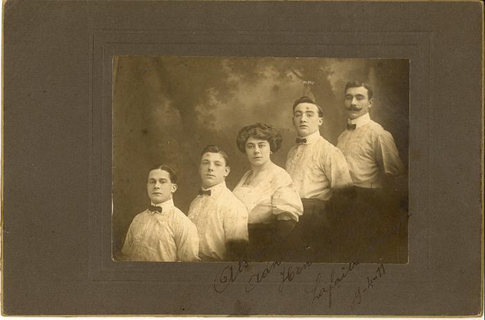 Lafaille Troupe 1911