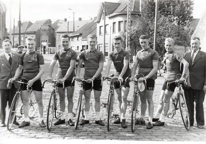 De Bie clubkampioenen, Gits, 1956
