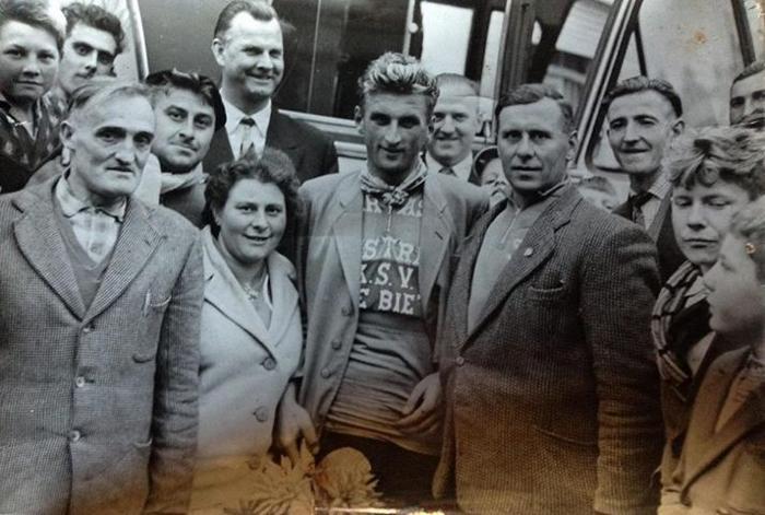 Winnaar koers, Lichtervelde, 1962
