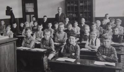 Meester Depoorter, klas geboortejaar 1950 - 1951