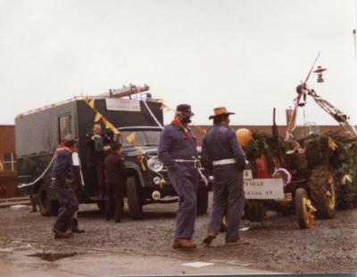 Carnaval Civiele bescherming, 1982, Gits