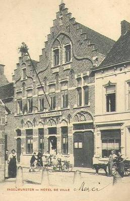 Oud Gemeentehuis, Gravinnestraat, Ingelmunster, ca 1905