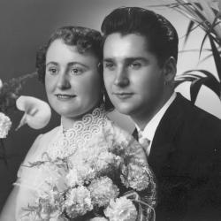 Huwelijksfoto Julien Olivier en Godelieve Vansteenkiste